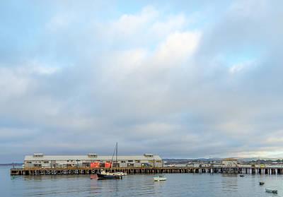 Photograph - Monterey's Commercial Wharf by Derek Dean