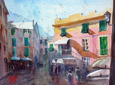 Monterosso Art Print by Andre MEHU