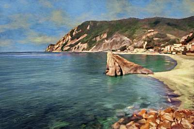 Painting - Monterosso Beach by Jeffrey Kolker
