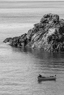 Photograph - Monterosso Fisherman And Boat  by John McGraw
