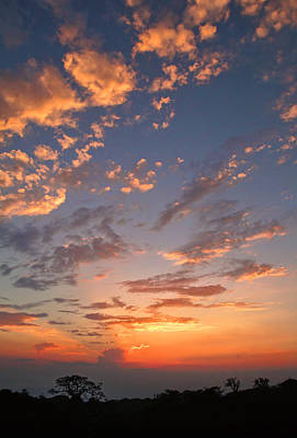 Photograph - Monteverde Sunset by Carolyn Derstine