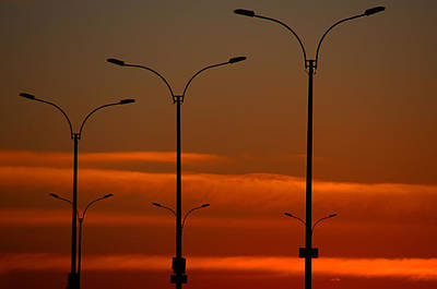 Photograph - Montevideo Abstract by Steven Richman