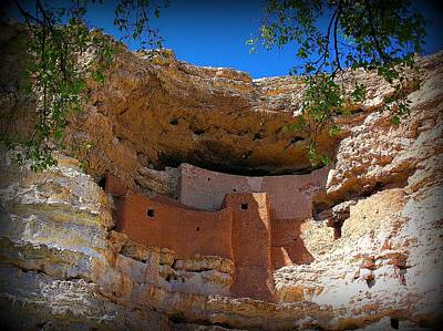 Photograph - Montezuma Castle In Arizona by Jen White