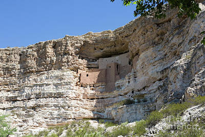Photograph - Montezuma Castle National Monument Arizona by Steven Frame