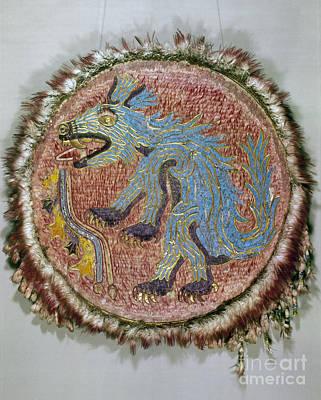Montezuma II: Shield Art Print