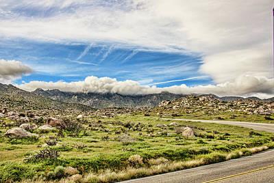 Photograph - Montezuma Pass Summit by Daniel Hebard
