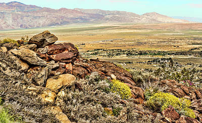 Photograph - Montezuma Rd-borrego Valley View by Daniel Hebard