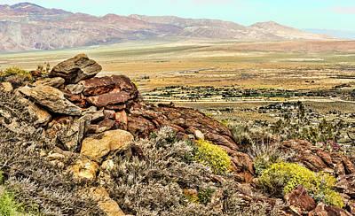 Photograph - Montezuma Rd-borrego Valley View by Daniel Hebard