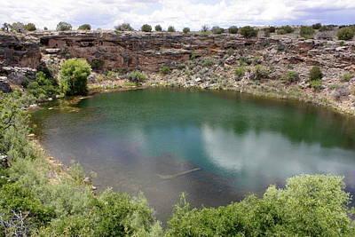 Rimrock Photograph - Montezuma's Well by Carol Groenen