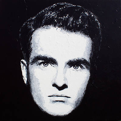 Painting - Montgomery Clift by Havi