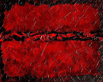 Healing Painting - Monti Krysto's Sinferno  by Holly Anderson