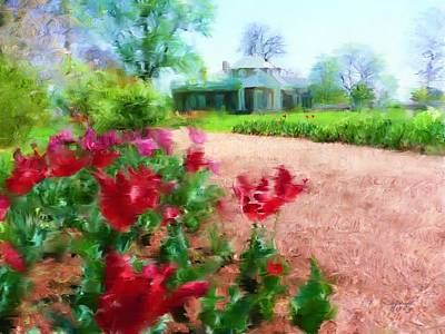 Painting - Monticello by Cindy Wright
