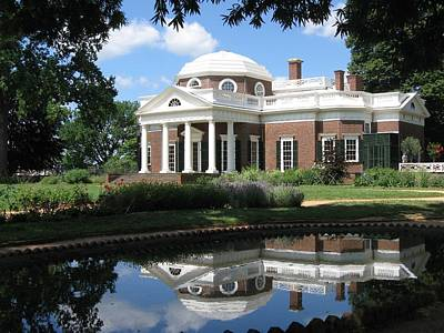 Art Print featuring the photograph Monticello by Doug McPherson