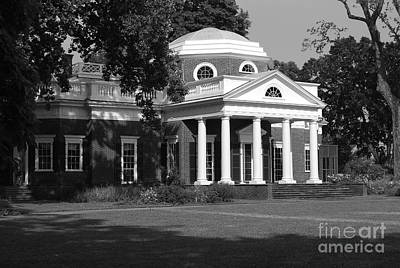 Art Print featuring the photograph Monticello IIi by Eric Liller
