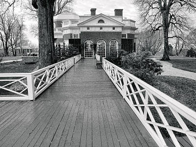 Historic Architecture Photograph - Monticello IIi by Steven Ainsworth