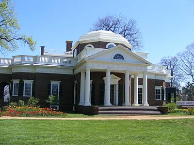 Monticello Art Print by James and Vickie Rankin