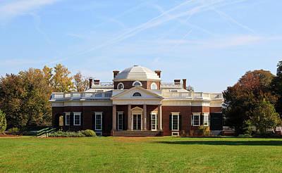 Monticello Photograph - Monticello by Jill Lang