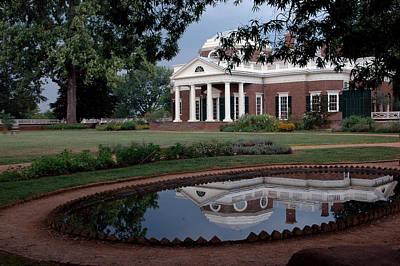 Universities Photograph - Monticello Reflections by LeeAnn McLaneGoetz McLaneGoetzStudioLLCcom
