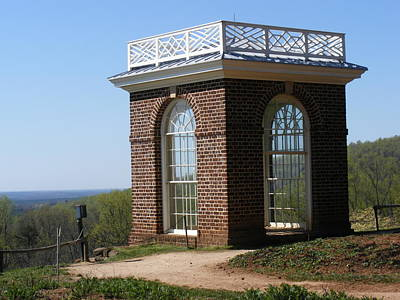 Monticello's Overlook Art Print by James and Vickie Rankin