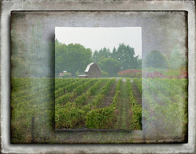 Art Print featuring the photograph Montinore Winery by Jeffrey Jensen