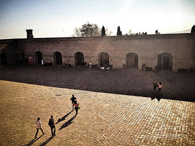 Photograph - Montjuic Castle Fortress - Barcelona by Colleen Kammerer