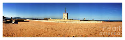 Photograph - Montjuic Castle - Panoramic by Colleen Kammerer