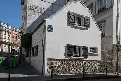 Digital Art - Montmarte Paris Rue Durantin by Carol Ailles