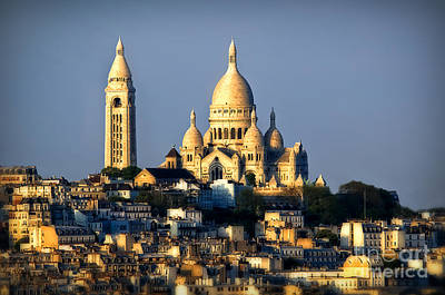 Montmartre Art Print by Alessandro Giorgi Art Photography
