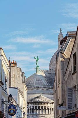 Photograph - Montmartre Architecture - Paris, France by Melanie Alexandra Price