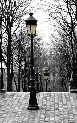 Photograph - Montmartre by Diana Haronis