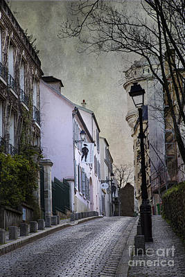 Photograph - Montmartre by Elena Nosyreva