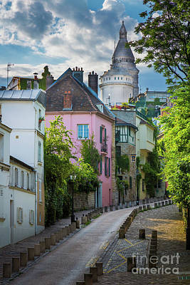 Photograph - Montmartre Hill by Inge Johnsson