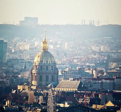 Montmartre Sacre Coeur Art Print by By Corsu sur FLICKR