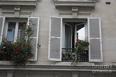 Photograph - Montmartre Window by Wilko Van de Kamp
