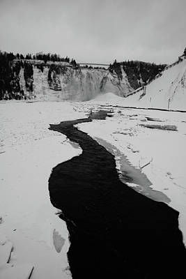 Photograph - Montmorency Falls by Perggals - Stacey Turner