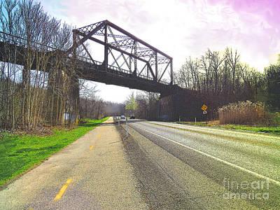 Montour Photograph - Montour Trail Trestle Bridge 1 by Shelly Weingart