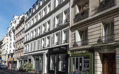Digital Art - Montparnasse Gardens In Paris by Carol Ailles