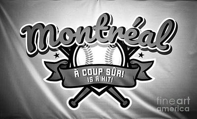 Photograph - Montreal Baseball by John Rizzuto