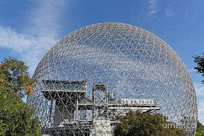 Photograph - Montreal Biosphere 1 by John  Mitchell