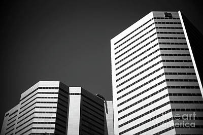 Photograph - Montreal Building Profile by John Rizzuto