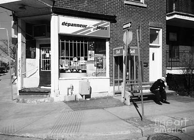 Photograph - Montreal Depanneur by Reb Frost