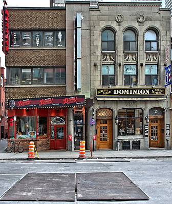 Photograph - Montreal Dunns And Taverne Square Dominion by Steven Richman