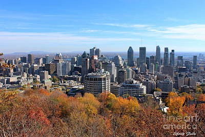 Photograph - Montreal by Elfriede Fulda
