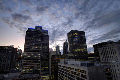 Photograph - Montreal Evening by Dan Poirier
