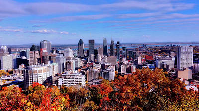 Photograph - Montreal In Autumn by Aurore Duwez