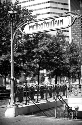 Photograph - Montreal Metropolitan by John Rizzuto