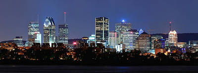 Photograph - Montreal Night by Songquan Deng