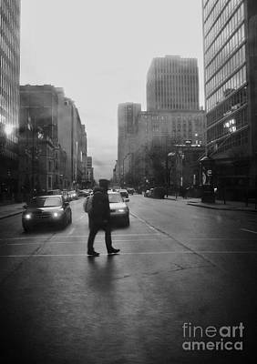 Photograph - Montreal On A Rainy Day by Reb Frost