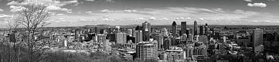 Photograph - Montreal Panorama by For Ninety One Days