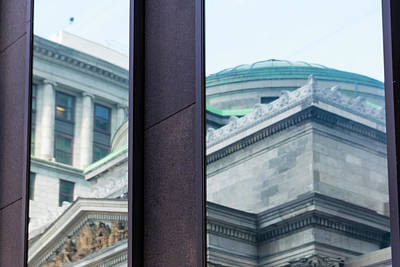 Photograph - Montreal Reflections 1 by Steven Richman